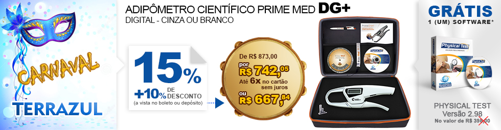 Adipômetro Prime Med Smart